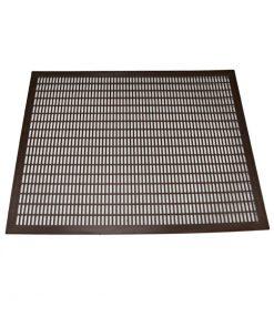 Plastspärrgaller Lågnormal 420 x 420 mm
